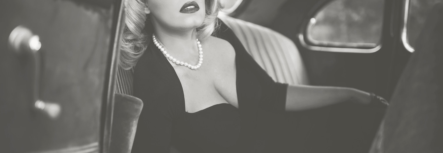 40s glam inspiration / Creative Concept