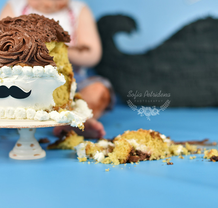 Mustache party time / Cake smash