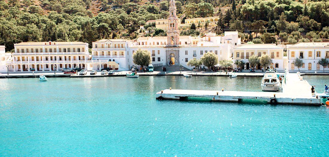 A baptism in a magical island (Symi)