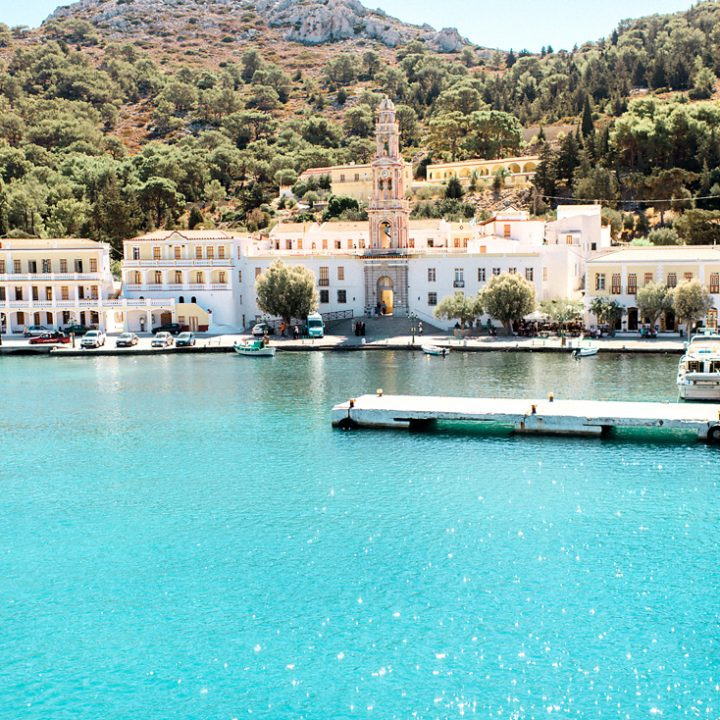 A baptism in a magical island (Symi)