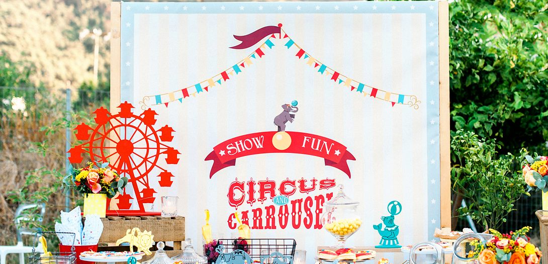 CIRCUS THEMED BAPTISM IN RHODES
