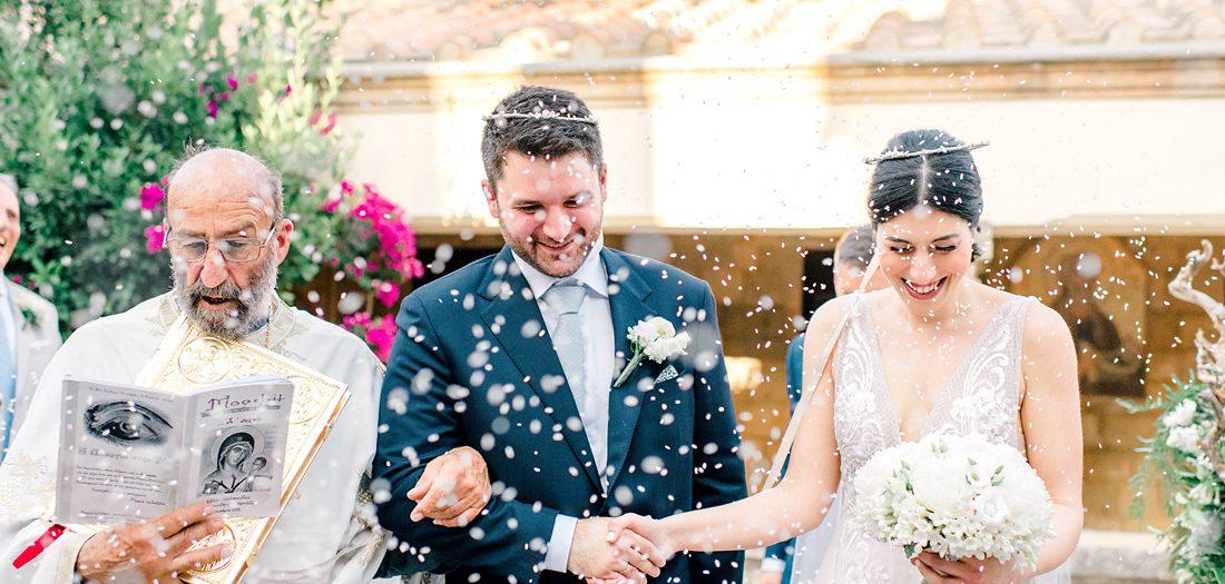 INTIMATE WEDDING IN RHODES | M+N