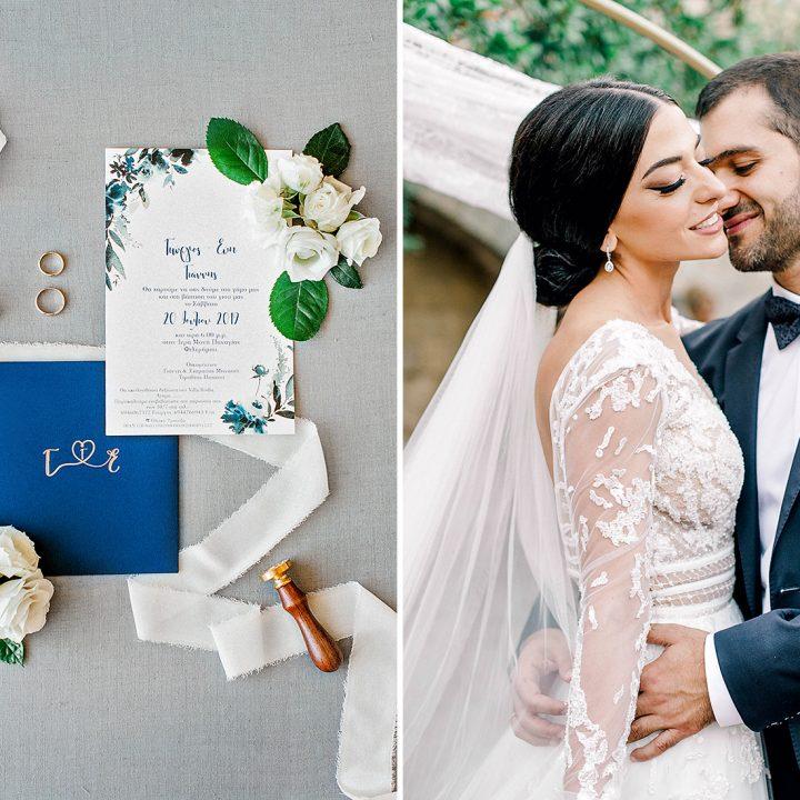 Evi + George |  Chic & Stylish wedding in Rhodes