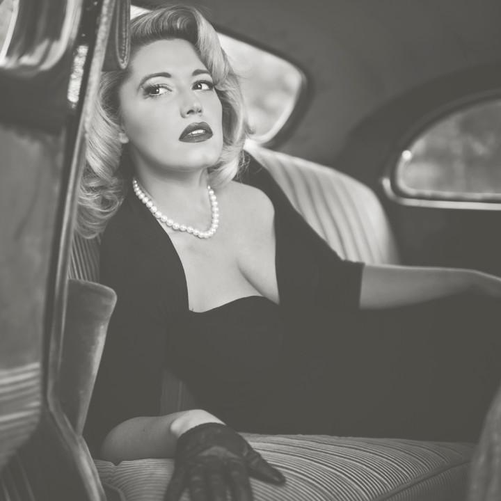 40s glam inspiration / Creative Concept