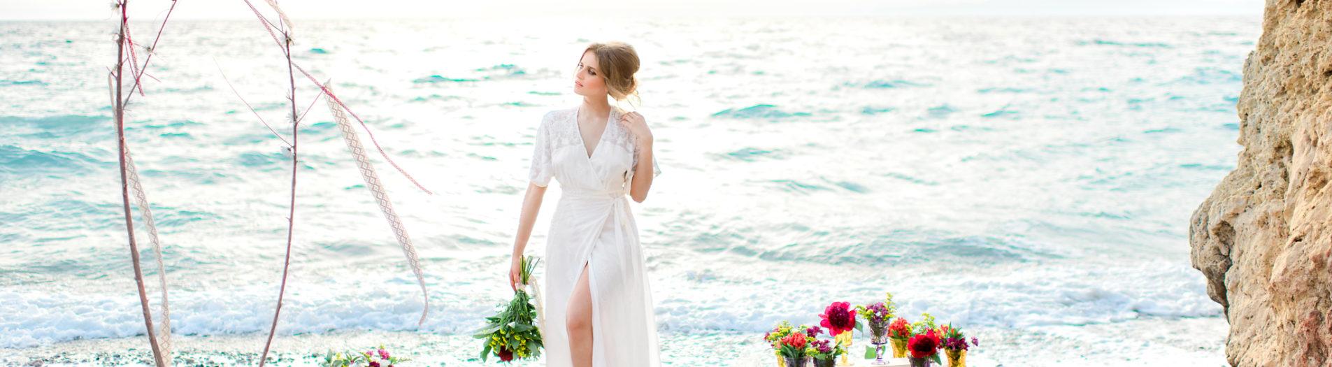 Bohemian wedding style shoot