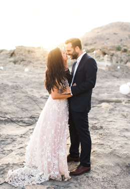 Intimate Boho Wedding... Under the stars