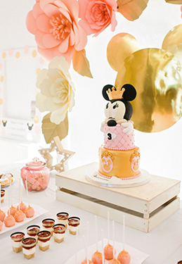 Happy 3rd birthday \ Princess minnie theme