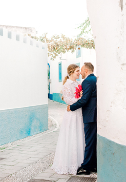 MARIETTA + NEKTARIOS / BRIGHT AND COLORFUL SUMMER WEDDING