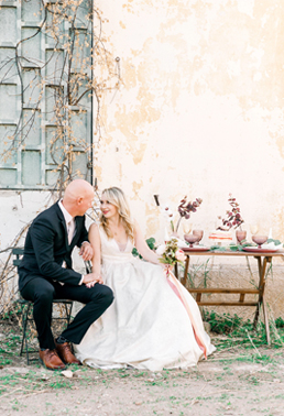 F+K | BLUSH PINK AND GOLD WEDDING IN KALLITHEA SPRINGS