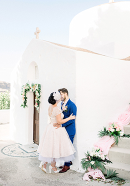 E+G | INTIMATE WEDDING IN RHODES/LINDOS